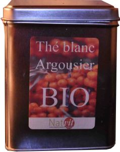 Th� blanc BIO � l'argousier des Alpes