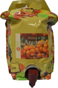 Pomme Argousier Poche 3L production locale