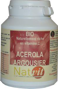 acerola argousier vitamines c comprim s naturels bio. Black Bedroom Furniture Sets. Home Design Ideas