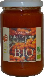 Confiture Argousier Baies BIO des Alpes